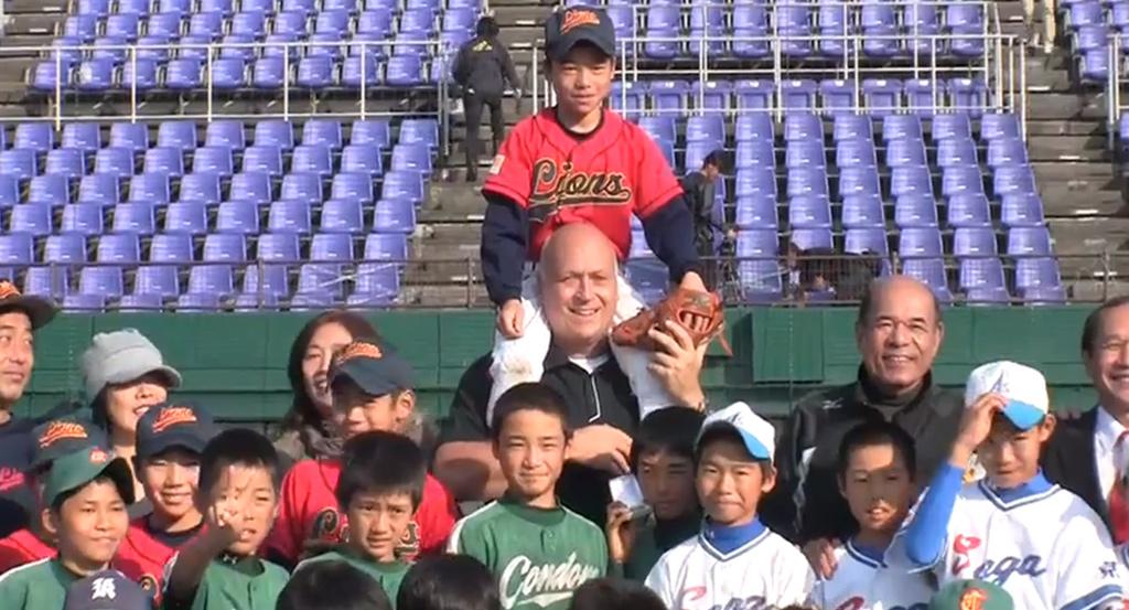 Cal Ripken Jr in Japan